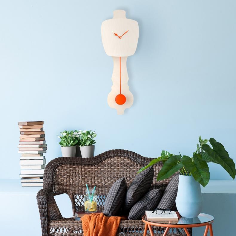 design klok met slinger   design pendulum clock