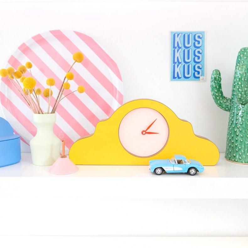 dutch design klok voor op mantel kast bureau