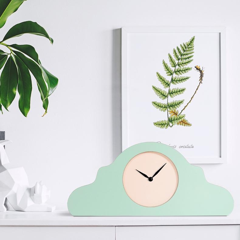 dutch design klok in groen van KLOQ