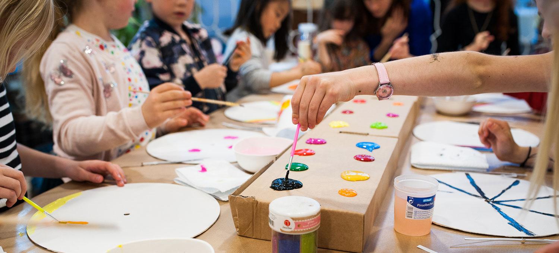 kinder workshop in Den Haag