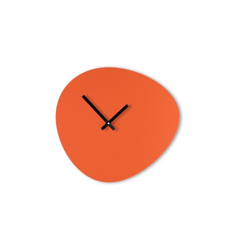 Retro clock red KLOQ